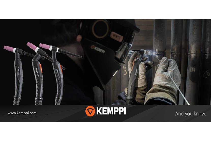 Flexlite by Kemppi, switch on your passion for welding